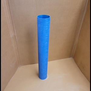 5 Inch Blue Coupler Leftover 35 Inches