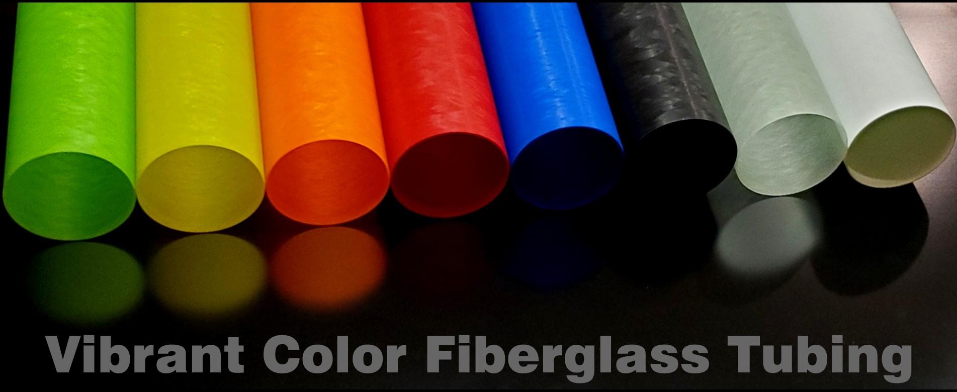 Vibrant Color Fiberglass Tubing